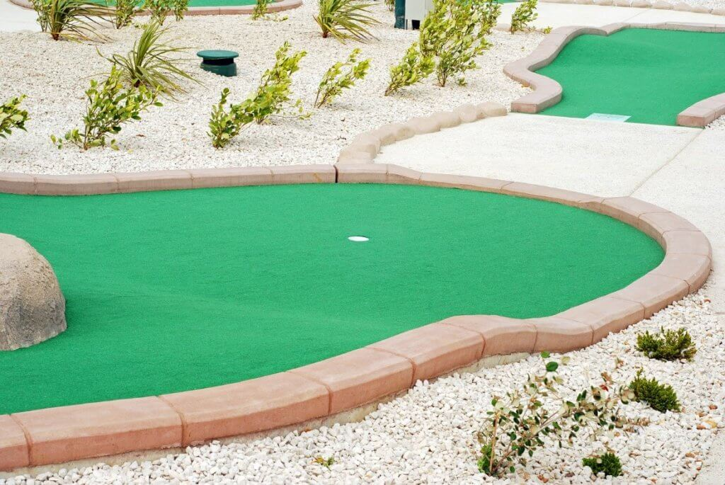 outdoor golf course