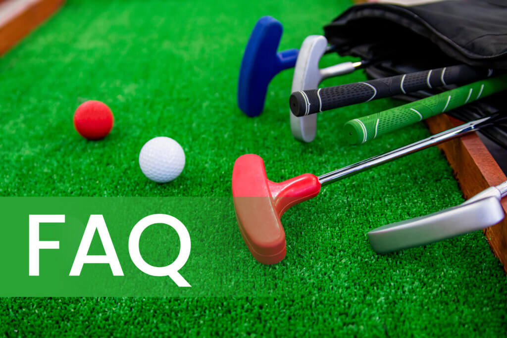 putting greens FAQ